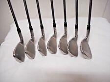 KZG HB516 4-PW Iron Set<Used>Steel shafts, stiff flex