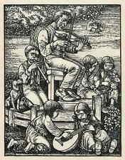 ABENDMUSIK - Heinrich GÖTTLER Schwabach - Strichätzung 1936 - HEYDER-Verlag