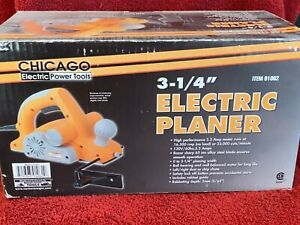 """CHICAGO ELECTRIC POWER TOOLS 3 1/4"""" ELECTRIC PLANER MODEL 91062"""