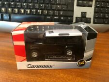 Cararama 1/43 Scale Land Rover Defender - Black/White Roof - Boxed