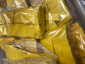 Yellow Tissue Confetti 1 Pound Brick Rectangular Flame Retardant