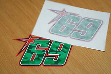 Nicky Hayden Camo 2015 Race Number (Small Pair)