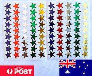 Star Stickers Kids Art School Reward Peel Off Teacher Students Colour Craft DIY