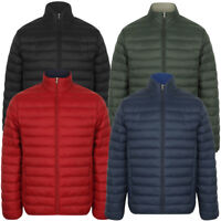 Tokyo Laundry Men's Bakman Plain Quilted Padded Puffer Bubble Jacket