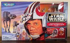 Star Wars Micro Machines Transforming Action Set Luke Skywalker Hoth MIB