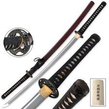 1060 Carbon Hand Forged Musashi Deluxe Katana Razor Sharp Battle Ready Weapon