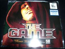 The Game How We Do Australian Enhanced CD Single