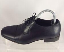 Bruno Magli Men Black Leather Dress Shoes 10.5M