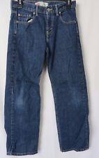 Levis 550 Boys Relaxed Jeans 27 x 27 Blue Size 14 Reg  #5161