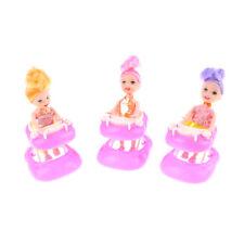 Kleinkind Spielzeug  Puppe Zubehör Puppe Spielzeug mit 3,5 Zoll Puppe ZP