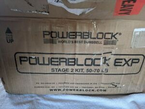 PowerBlock EXP Stage 2 Dumbbell Expansion Kit (50-70lbs) Double Set