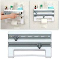 Fridge Cling Storage Rack Cutting Storage Rack Kitchen Organizer Tow Holder T7G0