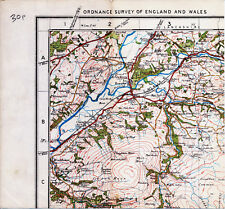 Wennington Claughton Wray 1928 small part map Caton Green Melling Hornby Aughton