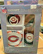 Chicago Bears NFL Football Baby Kit - Pacifier Bib & Bottle New in Package