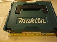 Makita Interlocking Modular Tool Case (Small) 197210-9 4. Brand New.
