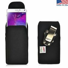 Turtleback Nylon Case Pouch Vertical Holster Belt Clip for Samsung Galaxy Note 4