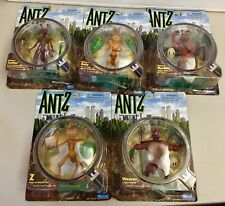 Vintage Antz Figurines - Z, Bala, Weaver, General Mandible & Colonel Cutter New