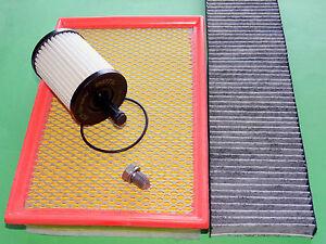 kl. Inspektionspaket Filterset Filtersatz VW Sharan Seat Alhambra 1.9 & 2.0 TDI