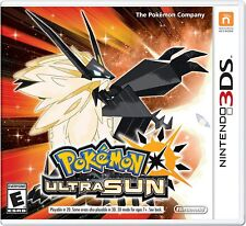 Pokémon Ultra Sun - Pokemon Ultra Sun Nintendo 3DS Brand New