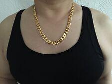 Garantía De Por Vida SG1208 61cm Collar Chapado Oro Bl tienda Navidad Cumpleaños