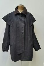 Waxed Cotton Regular Size Raincoats for Men