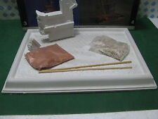 Vintage - CERAMIC OLASTER Diorama bases with  accessories in 1/35 Plus Model