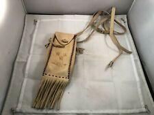 Vtg Boy Scout related Leather Pouch from Phoenix Area, Signed, Vg Cond.