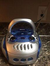 Memorex Portable Boombox AM/FM Radio CD Player Cassette Recorder MP3226 Preowned