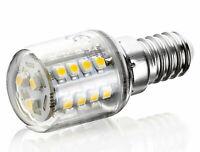 LED Leuchtmittel Mini Birne E14 2W 360° Kühlschrank Lampe - kaltweiß