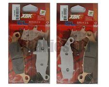 SUZUKI GSX750F GSX750 1998-2006 Set XBK5 Carbone Lorraine pastillas de Freno