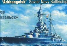 ARK - Russo navy corazzata Arkhangelsk Russa Nave da guerra - 1:500 PUNTA