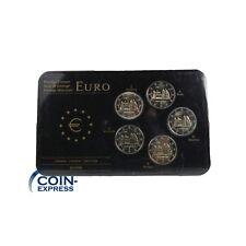 *** 2 Euro Gedenkmünzenset Deutschland 2014 Niedersachsen ADFGJ Michaeliskirche