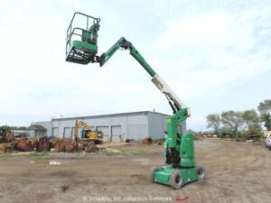 2012 JLG E300AJP 30' Electric Articulating Boom Lift Man Aerial bidadoo -Repair