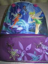 Disney Deluxe TINKER BELL Backpack Padded Handle & Straps Lots o Pockets New