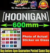 HOONIGAN DECAL STICKER 600mm RALLY DRIFT JDM EDM MOTORSPORT DECALS STICKERS