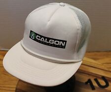 CALGON CORPORATION TRUCKERS STYLE SNAPBACK MESH BACK HAT IN VERY GOOD CONDITION