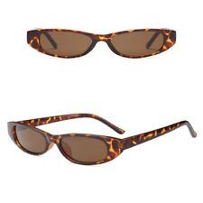 Small Lens Tiny Rectangular Womens Fashion Sunglasses Retro Vintage Shades