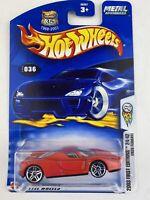 Hot Wheels 2003 #36 #24 Enzo Ferrari red Chrome VHTF Mattel 56387 First Editions