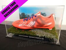 ✺Signed✺ ANTHONY MINICHIELLO Boot PROOF COA Sydney Roosters NRL 2018 Jersey