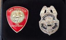 San Francisco Fire Department SFFD PIN Set