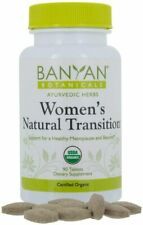 Women's Natural Transition  Organic  90 tabs By Banyan Botanicals exp 1/23