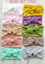Baby headband - Girl Toddler Hairband Headband Big Soft Knot Baby Headbands -Aus