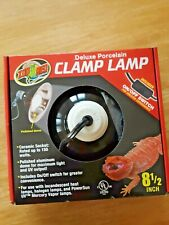 Zoo Med Laboratories - Deluxe Porcelain Clamp Lamp with Dome - 8.5 Inch