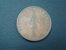 Canada Lower Canada Montreal 1837 Sou 1/2 Penny Token Fine+ KM#Tn7