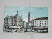 Ansichtskarte,1914,gelaufen,Antwerpen/Arnheim Holland,Antwerpen,Suikerrui