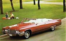 Old Print. 1969 Cadillac de Ville Convertible Auto Ad