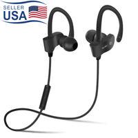 Wireless Bluetooth Earphone Headphone Sport Headset Stereo with Mic for Phone