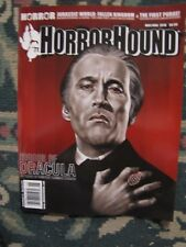 Horror Hound # 71 Uncirculated  Horror of Dracula- 60 Years & Jurassic World
