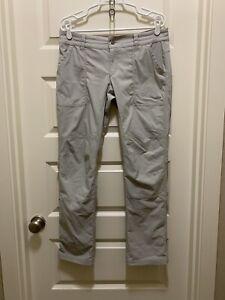Columbia Women's Pilsner Peak Pants Truffle Oxford Sz 10 Regular 42