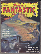 C1 FAMOUS FANTASTIC MYSTERIES 10 47 SF Pulp Lawrence FINLAY Bok VIVIAN Leinster